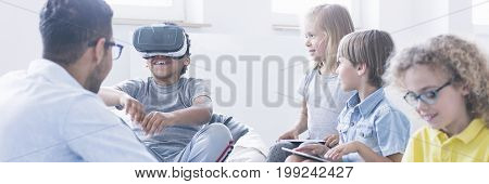 Using Vr Technology During Classes