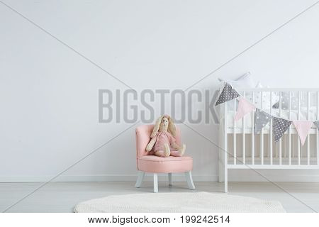 Children's Bedroom With Chair
