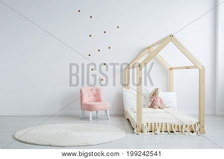 Modern Children's Furniture In Bedroom