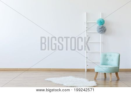 Elegant Interior Of Children's Room