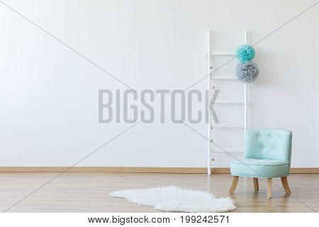 Elegant Interior Of Children's Room