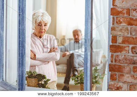 Woman After An Argument