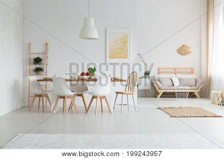 Dining Space In Loft