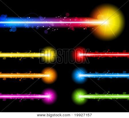Laser Neon Colorful Lights