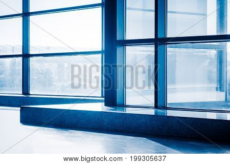 empty airport lounge,advertising background.