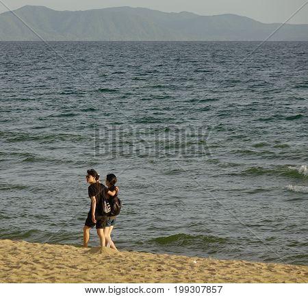 Jomtien Beach At Summer In Pattaya, Thailand