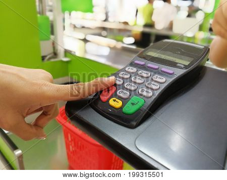 Money machine electronic cash in Technology background