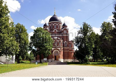 Founded by M. M. tuckaway, widow of A. A. Tuchkov, who died at Borodino. In 1817, she, with the consent of the Emperor Alexander I, who gave 10 thousand roubles -- half of the required amount, bought three acres of land at medium to Bagration flush flesh,