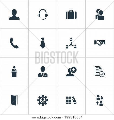 Elements Earmuff, Group, Friendship And Other Synonyms Best, Team And Teamwork.  Vector Illustration Set Of Simple  Icons.