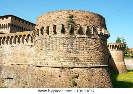 Ravaldino Fortress also known as Rocca di Caterina Sforza in Forlì. poster