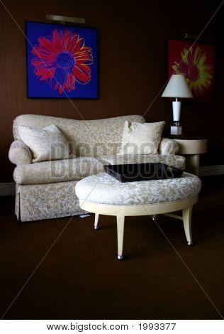 Interior Of Living Room Area