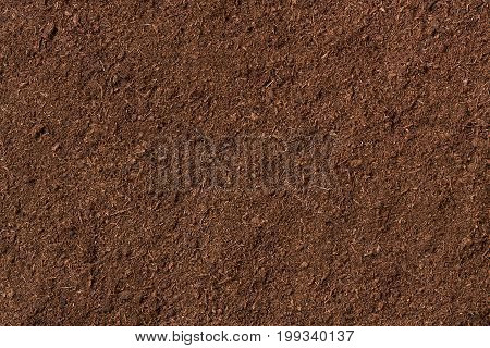 peat soil as a background organic texture