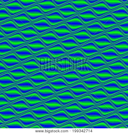 Green seamless pattern. Illustration design. Geometric pattern. Green background. Green texture. Phosphorous seamless pattern. Phosphorous background. Phosphorous texture. Blue seamless pattern. Blue background. Blue texture