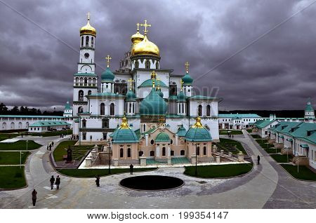 The Voskresensky new Jerusalem monastery -- historically stauropegial monastery of the Russian Orthodox Church in city Istra
