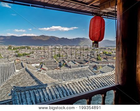 Old Town Of Lijiang travel destination in Yunnan China
