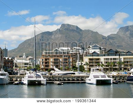 FROM CAPE TOWN, SOUTH AFRICA, VICTORIA AND ALFRED WATERFRONT ON A CLOUDY DAY 38cc