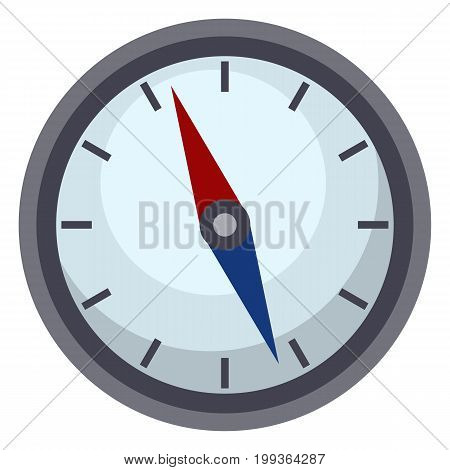 Vector Single Geographic Compass Icon