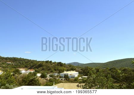 Alte Algarve Portugal - October 6 2014 : Alte village in the mountains of Portugal
