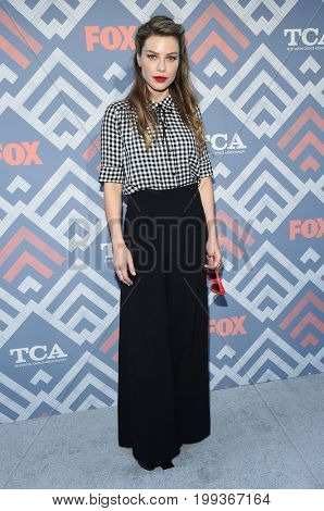 LOS ANGELES - AUG 08:  Lauren German arrives for the FOX TCA Summer Press Tour 2017 on August 8, 2017 in West Hollywood, CA