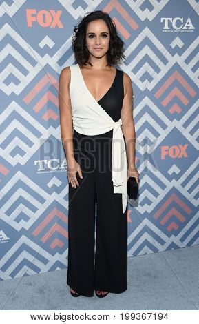 LOS ANGELES - AUG 08:  Melissa Fumero arrives for the FOX TCA Summer Press Tour 2017 on August 8, 2017 in West Hollywood, CA