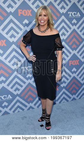 LOS ANGELES - AUG 08:  Mary Murphy arrives for the FOX TCA Summer Press Tour 2017 on August 8, 2017 in West Hollywood, CA