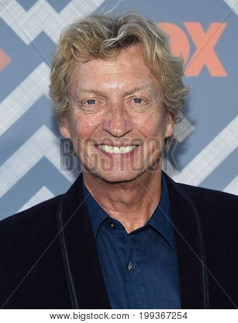 LOS ANGELES - AUG 08:  Nigel Lythgoe arrives for the FOX TCA Summer Press Tour 2017 on August 8, 2017 in West Hollywood, CA