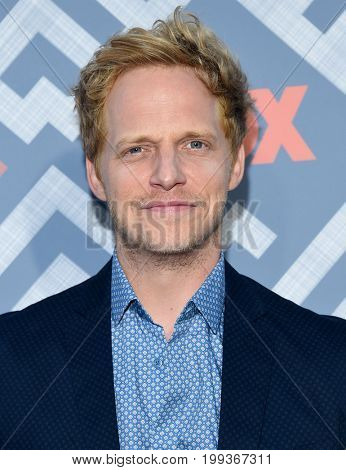 LOS ANGELES - AUG 08:  Chris Geere arrives for the FOX TCA Summer Press Tour 2017 on August 8, 2017 in West Hollywood, CA