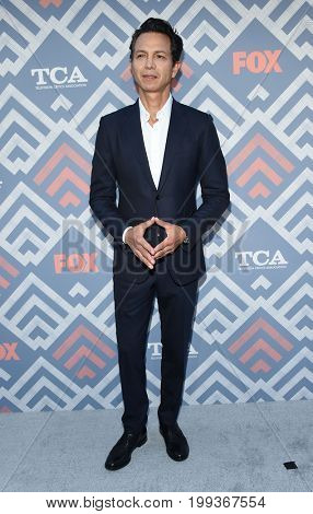 LOS ANGELES - AUG 08:  Benjamin Bratt arrives for the FOX TCA Summer Press Tour 2017 on August 8, 2017 in West Hollywood, CA