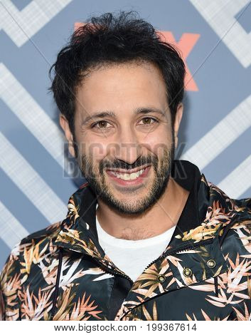 LOS ANGELES - AUG 08:  Desmin Borges arrives for the FOX TCA Summer Press Tour 2017 on August 8, 2017 in West Hollywood, CA