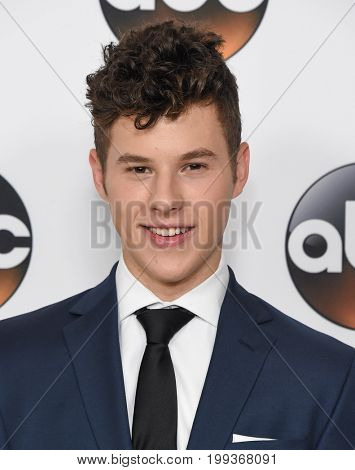 LOS ANGELES - AUG 06:  Nolan Gould arrives for the ABC TCA Summer Press Tour 2017 on August 6, 2017 in Beverly Hills, CA