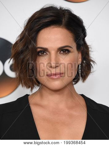 LOS ANGELES - AUG 06:  Lana Parrilla arrives for the ABC TCA Summer Press Tour 2017 on August 6, 2017 in Beverly Hills, CA