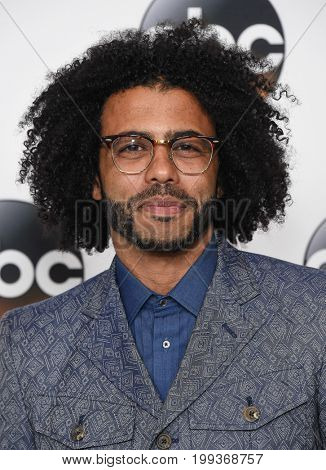 LOS ANGELES - AUG 06: Daveed Diggs  arrives for the ABC TCA Summer Press Tour 2017 on August 6, 2017 in Beverly Hills, CA