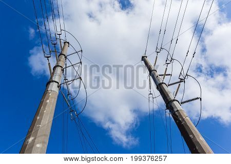 Electrical Power Lines Towers
