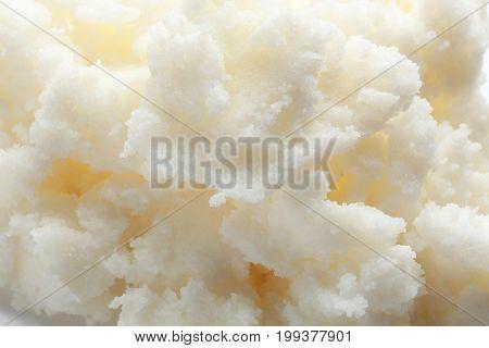 Shea butter, closeup