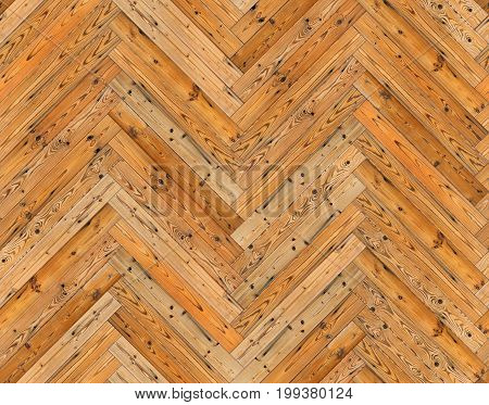 Herringbone natural parquet seamless floor or wall texture background