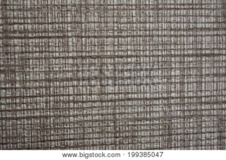 Brown tactile wall paper, in brown color