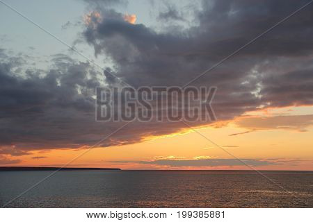Lake Superior near Pictured Rocks National Lakeshore, Upper Peninsula of Michigan