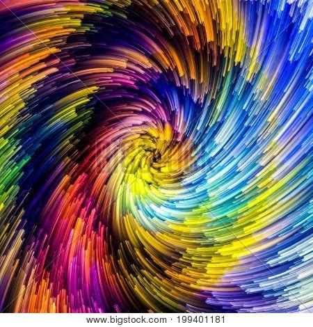 Unfolding Of Vibrant Vortex