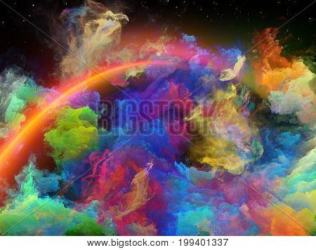 North Of Space Nebula