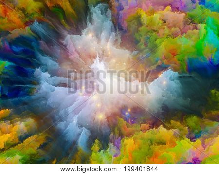 Exploding Texture
