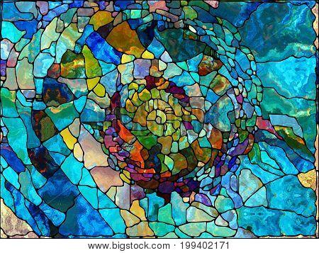 Virtual Leaded Glass
