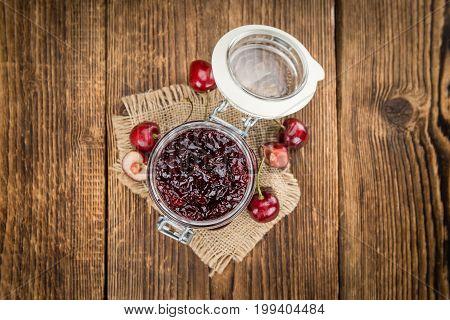 Fresh Made Cherry Jam