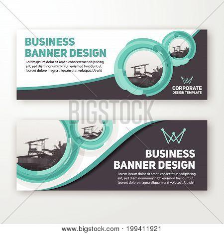 Modern Corporate Banner Background