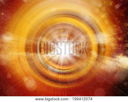 conceptual background image of abstract lights and vortex