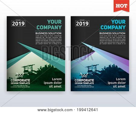 Modern Corporate Business Flyer Layout Template