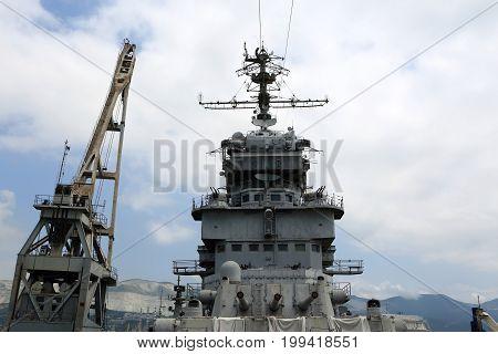 Top Of Artillery Cruiser