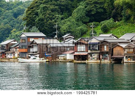 Traditional old village, Ine cho in Kyoto