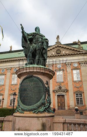 The House of Nobility in Stockholm, Sweden, maintains records and acts as an interest group on behalf of the Swedish nobility.