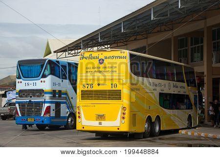 Phetprasert Tour Company. Bus For Route Nakhon Phanom And Chiangmai.