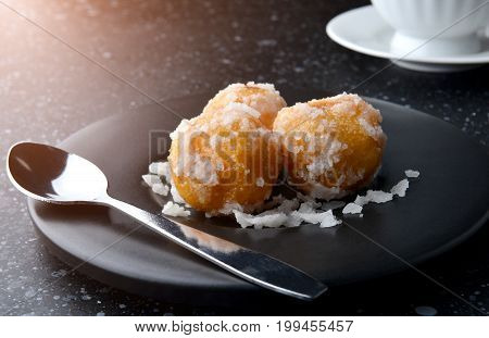 Thai Dessert Khai Hong It's Mean Swan Egg.